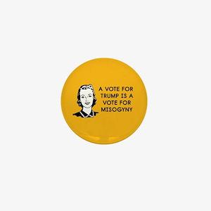 Trump Misogyny Mini Button