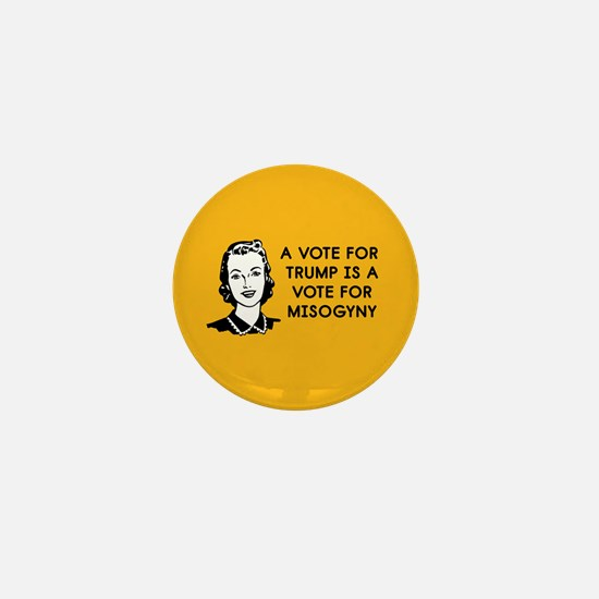 Trump Misogyny Mini Button