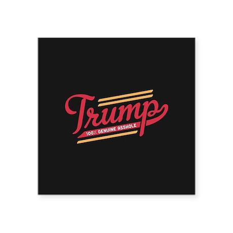 Genuine asshole sticker