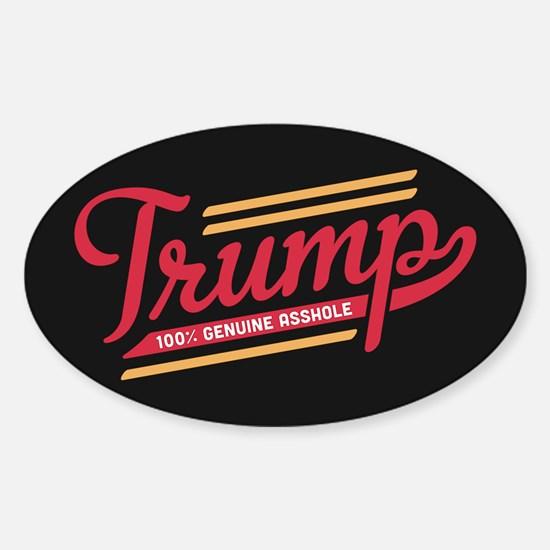 Trump Genuine Asshole Decal