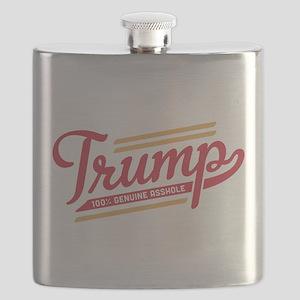 Trump Genuine Asshole Flask