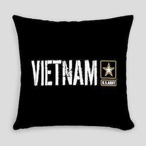 U.S. Army: Vietnam (Black) Everyday Pillow
