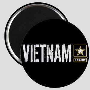 U.S. Army: Vietnam (Black) Magnet