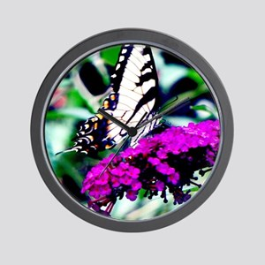Swallowtail Butterfly  Wall Clock