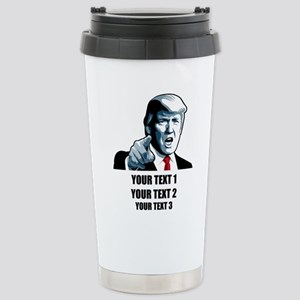 Copyrighted Personalize Stainless Steel Travel Mug