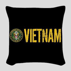 U.S. Army: Vietnam Woven Throw Pillow