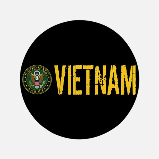 "U.S. Army: Vietnam 3.5"" Button (100 pack)"