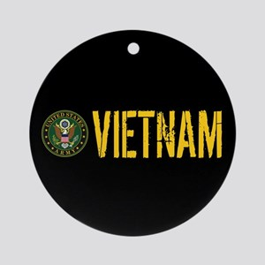U.S. Army: Vietnam Round Ornament