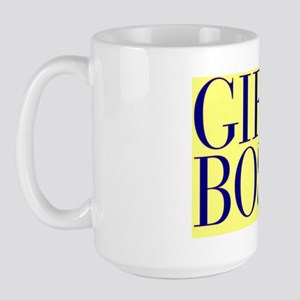 Girl boss Large Mug