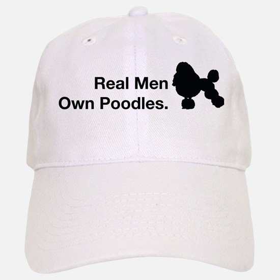 Love Poodles Black Baseball Baseball Cap