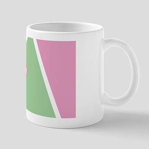 Cool Bright Monogram Mug