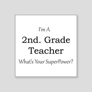 2nd. Grade Teacher Sticker
