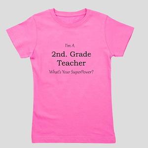 2nd. Grade Teacher Girl's Tee