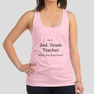 2nd. Grade Teacher Racerback Tank Top