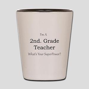 2nd. Grade Teacher Shot Glass