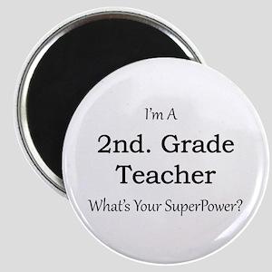 2nd. Grade Teacher Magnets