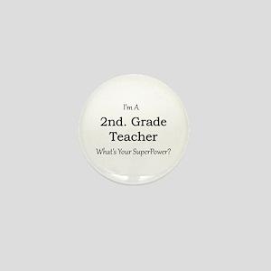 2nd. Grade Teacher Mini Button