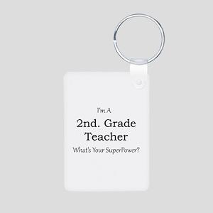 2nd. Grade Teacher Keychains
