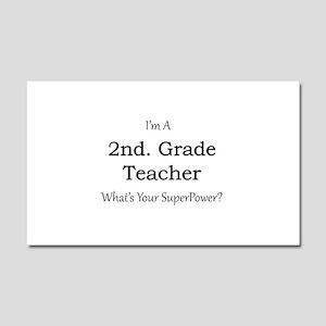 2nd. Grade Teacher Car Magnet 20 x 12