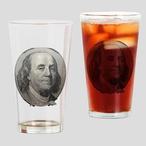 Benjamin Franklin Drinking Glass