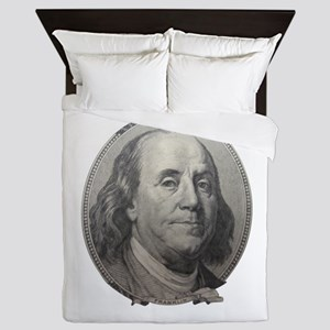 Benjamin Franklin Queen Duvet