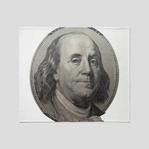 Benjamin Franklin Throw Blanket