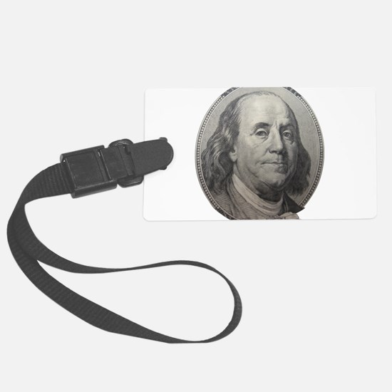 Benjamin Franklin Luggage Tag