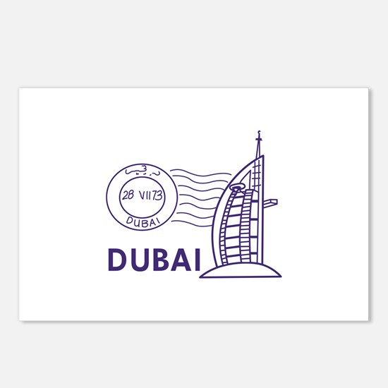 TRAVEL DUBAI Postcards (Package of 8)