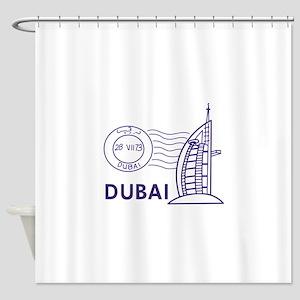 TRAVEL DUBAI Shower Curtain