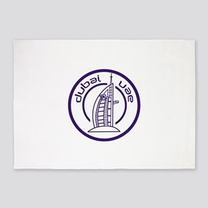 TRAVEL DUBAI UAE 5'x7'Area Rug