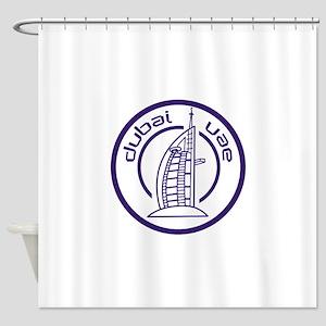 TRAVEL DUBAI UAE Shower Curtain