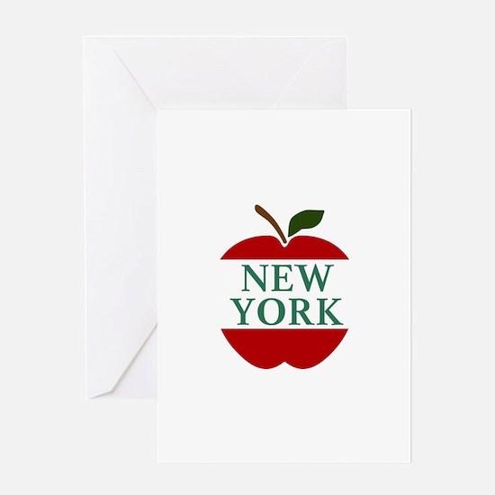 NEW YORK BIG APPLE Greeting Cards