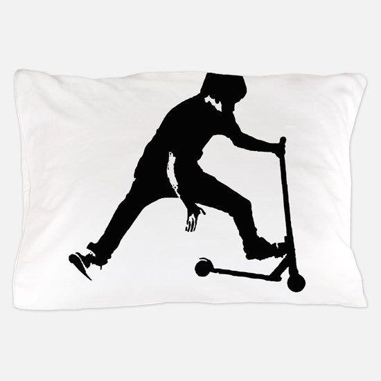 Cute Scooter Pillow Case