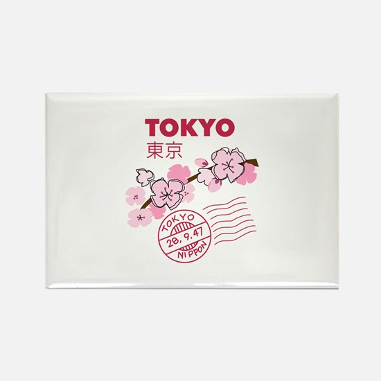 TOKYO CHERRY BLOSSOM Magnets