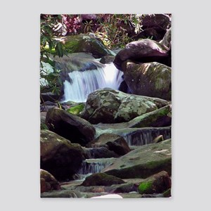 Great Smoky Mountain Stream 5'x7'Area Rug