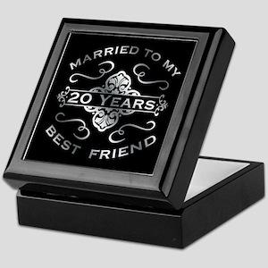 Married To My best Friend 20th Keepsake Box