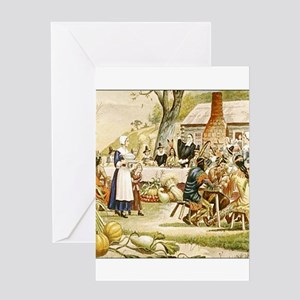 First thanksgiving greeting cards cafepress first thanksgiving greeting cards m4hsunfo