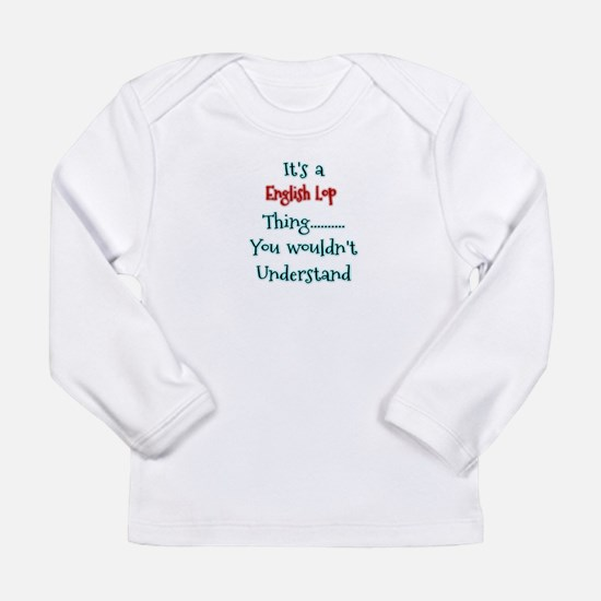 English Lop Thing Long Sleeve T-Shirt