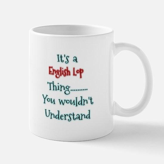 English Lop Thing Mugs