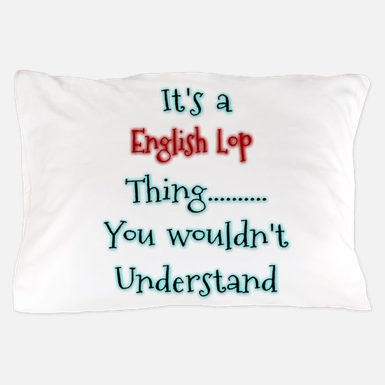 English Lop Thing Pillow Case