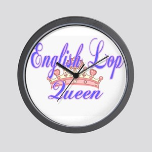 English Lop Queen Wall Clock