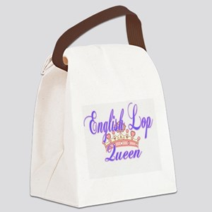 English Lop Queen Canvas Lunch Bag