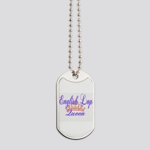 English Lop Queen Dog Tags