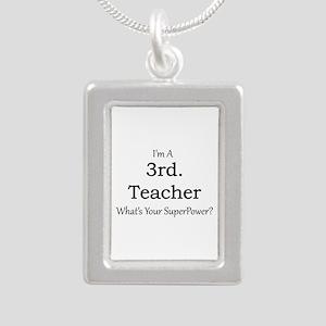 3rd. Grade Teacher Necklaces