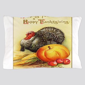 Happy Thanksgiving Pillow Case
