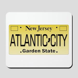 Atlantic City NJ Tag Giftware Mousepad