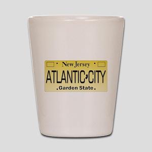Atlantic City NJ Tag Giftware Shot Glass