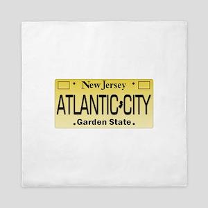 Atlantic City NJ Tag Giftware Queen Duvet