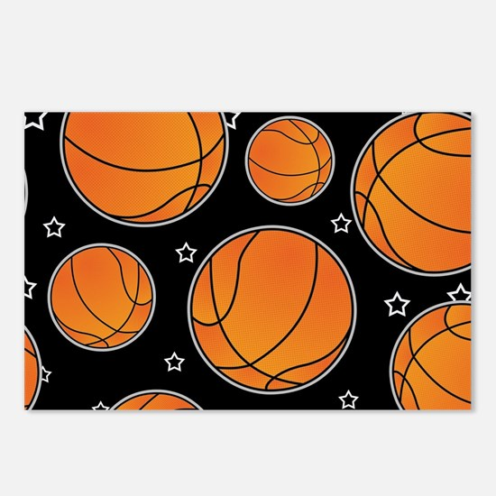 Basketball Star Pattern Postcards (Package of 8)