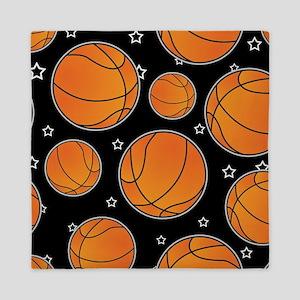 Basketball Star Pattern Queen Duvet